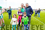 A Celebration for Na Gaeil's bainisteoir Donal Rooney with his children Harry, Emily and Freya Looney with John Barry who were crowned Junior Premier Champions having defeated St Senans in the Junior Premier football championship final on Sunday.