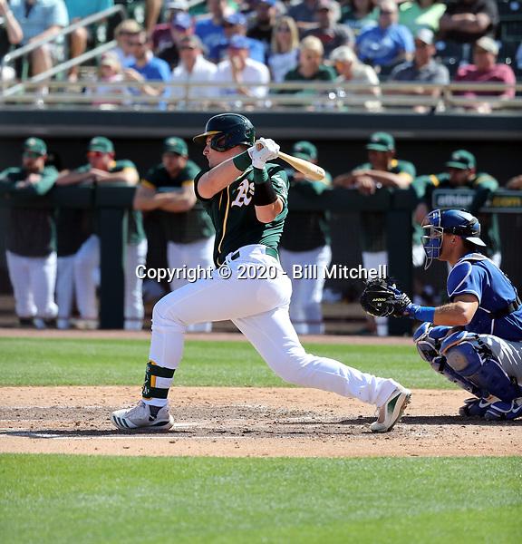Sean Murphy - Oakland Athletics 2020 spring training (Bill Mitchell)