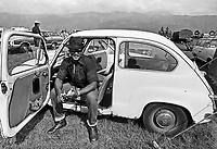 - the NATO in Friuli (northern Italy), U.S. Military personnel of the U.S. air base in Aviano (Pordenone, 1981) ....- la NATO in Friuli (Italia settentrionale), personale militare della base aerea USA di Aviano (Pordenone, 1981)