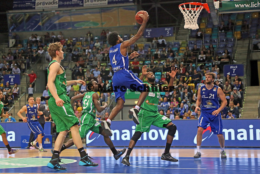 Korbleger Ramon Galloway (Skyliners) - Fraport Skyliners vs. TBB Trier, Fraport Arena Frankfurt