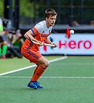 Den Bosch  - Thierry Brinkman (Ned)  tijdens   de Pro League hockeywedstrijd heren, Nederland-Belgie (4-3).    COPYRIGHT KOEN SUYK