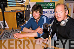 Radio awards: West Limerick 102 FM's Lorcan Curtin with presenter Eamon O'Liatha?in at the Abbeyfeale studio where they received two Glor na Gael awards for their radio programmes.