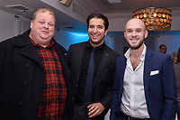 "NEW YORK - NOVEMBER 14: Joel Marsh Garland, Alex Riad and Evan Hall attend the National Geographic ""StarTalk: Live from the Beacon Theatre"" taping on November 14, 2018 in New York City. (Photo by Anthony Behar/National Geographic/PictureGroup)"