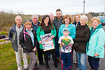 Walkers<br /> -----------<br /> At the launch of the Cloghane/Brandon walking and music festival at Halla Ceile last Friday were L-R John Griffin,Marie Fry,Michael&amp;Catriona Curren,Tom O'Donnell,Siobhan&amp;Seamus O'Connor,Padraig Murphy,Sandra O'Donnell,Mary Griffin&amp;Helen Harty