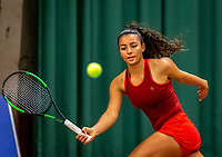 Wateringen, The Netherlands, December 4,  2019, De Rhijenhof , NOJK 14 and18 years, Warda alt el Bachir (NED)<br /> Photo: www.tennisimages.com/Henk Koster