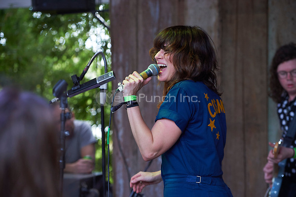 AUSTIN, TX - MARCH 17: Nicole Atkins performs at the Blackheart on March 17 in Austin, Texas during the 2017 South by Southwest music festival. Credit: Tony Nelson/MediaPunch