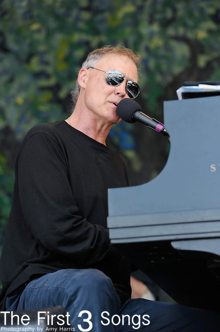 Bruce Hornsby & The Noisemakers perform during the New Orleans Jazz & Heritage Festival in New Orleans, LA on May 4, 2012.