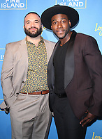 NEW YORK, NY April 20, 2017 Justin Russo, Khasan Brailsford attend Logo's Fire Island Premiere Party  at Atlas Social Club  in New York April 20,  2017. Credit:RW/MediaPunch