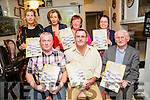 At the launch of the Spa/Fenit Hospice Calendar 2016 'Nostalgic Memories'. in Aid of the Palliative Care Unit KGH and the Irish Cancer Society at the West End, Fenit on Sunday were  front l-r  Jim McCarthy, Brian O'Keeffe and Dan O'Keeffe. Back l-r  Nuala Finnegan, Marie McSwiney, Noreen O'Leary and Christina Gallagher.