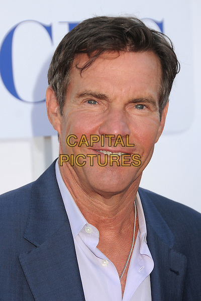Dennis Quaid.CBS, CW, Showtime 2012 Summer TCA Party held at The Beverly Hilton Hotel, Beverly Hills, California, USA..July 29th, 2012.headshot portrait blue purple shirt suit .CAP/ADM/BP.©Byron Purvis/AdMedia/Capital Pictures.