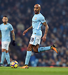 Fabian Delph of Manchester City during the premier league match at the Etihad Stadium, Manchester. Picture date 16th December 2017. Picture credit should read: Robin ParkerSportimage