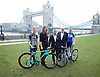 Sadiq Khan, Mayor of London and Olympian Katie Archibald announce world-famous Women&rsquo;s Tour coming to London for the first time on 11th June 2017.<br /> Potters Field outside City Hall, London, Great Britain <br /> 15th February 2017 <br /> <br /> <br /> <br /> Abi van Twisk <br /> Team WNT<br /> <br /> <br /> Claire Pulford <br /> Head of events - Breast Cancer Care <br /> <br /> Sadiq Khan <br /> <br /> Mick Bennett <br /> Race Director <br /> <br /> Katie Archibald (22)<br /> Olympic Gold Medalist <br /> Team Pursuit <br /> Team WNT <br /> <br /> <br /> <br /> <br /> <br /> <br />  <br /> The Mayor of London, Sadiq Khan, and Olympic Gold medallist Katie Archibald have announced this morning that London will host the final stage of The Women's Tour for the very first time on Sunday June 11.<br />  <br /> <br /> <br /> <br /> <br /> Photograph by Elliott Franks <br /> Image licensed to Elliott Franks Photography Services