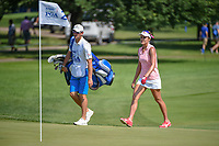 Lexi Thompson (USA) approaches her ball on 2 during round 3 of the 2018 KPMG Women's PGA Championship, Kemper Lakes Golf Club, at Kildeer, Illinois, USA. 6/30/2018.<br /> Picture: Golffile | Ken Murray<br /> <br /> All photo usage must carry mandatory copyright credit (&copy; Golffile | Ken Murray)