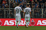 22.07.2017, Millerntor-Stadion, Hamburg, GER, FSP, FC St. Pauli vs SV Werder Bremen<br /> <br /> im Bild<br /> Max Kruse (Werder Bremen #10), Fin Bartels (Werder Bremen #22), <br /> <br /> Foto &copy; nordphoto / Ewert