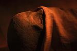 Mummy of the king Merenrei in Saqqara museum Egypt.