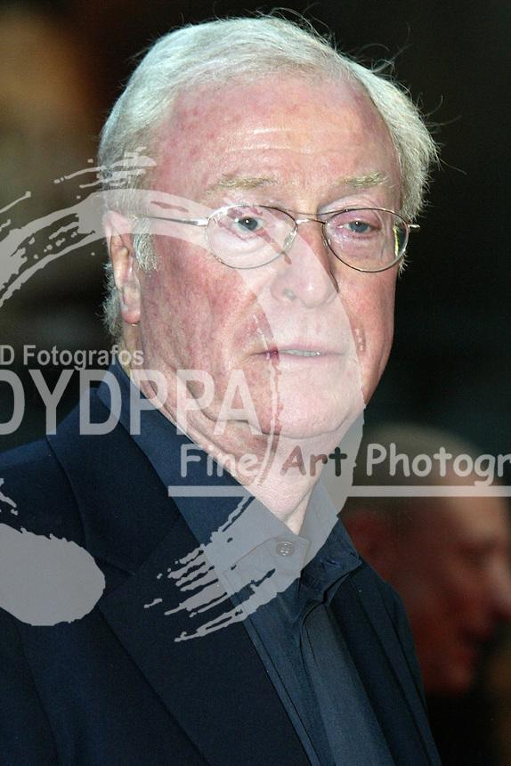 "Actor Sir Michael Caine attends the Germany premiere of ""Batman Begins"" at CineStar am Potsdamer Platz, Berlin"