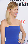 Brooklyn Decker arriving at the Grace and Frankie Season 2 Premiere held at Harmony Gold on May 1, 2016