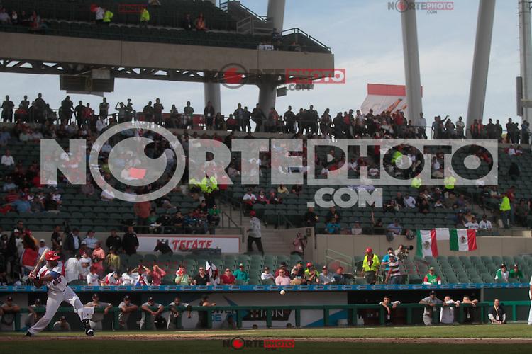 Andy Gonzalez  (PuertoRico) durante  la Serie del Caribe 2013  de Beisbol,  Puerto Rico  vs Republica Dominicana ,  en el estadio Sonora el 2 de febrero de 2013...© (foto:BaldemarDeLosLlanos/NortePhoto)........during the 2013 Caribbean Series Baseball, Puerto Rico vs Dominican Republic in Sonora Stadium on February 2, 2013 ...© (photo: Baldemar of Llanos / NortePhoto)...http://mlb.mlb.com/mlb/events/winterleagues/league.jsp?league=cse