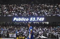 SÃO PAULO, SP, 13 DE MAIO DE 2012 - FINAL DO CAMPEONATO PAULISTA - SANTOS x GUARANI: Publico presente durante Santos x Guarani, segunda partida da final do Campeonato Paulista no Estádio do Morumbi. FOTO: LEVI BIANCO - BRAZIL PHOTO PRESS