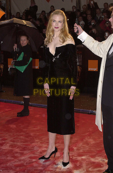 NICOLE KIDMAN.Arrivals at the British Academy of Film, Television & Arts Awards (BAFTAS), Odeon Leicester Square. .Ref: 11498.full length, full-length.*RAW SCAN - photo will be adjusted for publication*.www.capitalpictures.com.sales@capitalpictures.com.© Capital Pictures