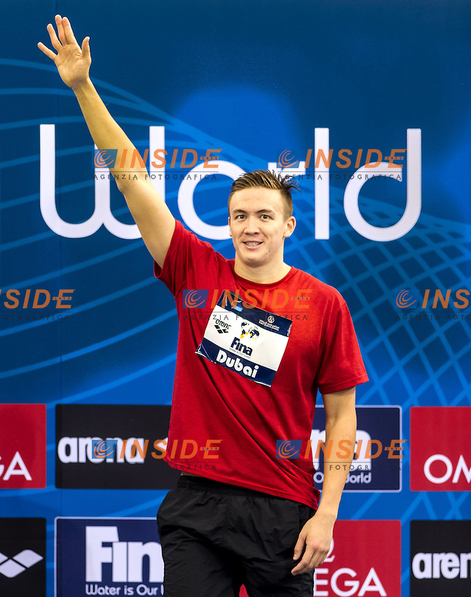 Robert Hurley Australia<br /> 400 Freestyle Men <br /> FINA Swimming World Cup 2013<br /> Dubai 16 - 18 October 2013<br /> Day 1 October 17 Finals<br /> Hamdan bin Mohammed bin Rashid Sport Complex<br /> Photo G.Scala/Insidefoto