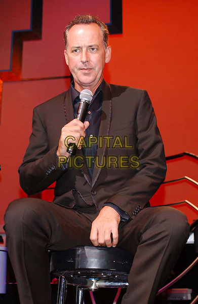 MICHAEL BARRYMORE .Performing in His New Show in London.singing, microphone,  half length, half-length, music.www.capitalpictures.com.sales@capitalpictures.com.©Capital Pictures