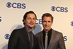 Augustus Prew & Dermot Mulroney - Pure Genius - CBS Upfront 2016 - Oak Room, New York City, New York.  (Photo by Sue Coflin/Max Photos)