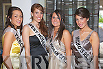 Danielle Bodell, Karen McGillycuddy, Carly Horan and Sonia Ryan contestants at the 2009 Kerry Rose Selection at the Earl of Desmond Hotel, Tralee on Saturday night .