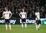 Tottenham's Jan Vertonghen looks on dejected after West Ham's opening goal during the Premier League match at the London Stadium, London. Picture date: May 5th, 2017. Pic credit should read: David Klein/Sportimage