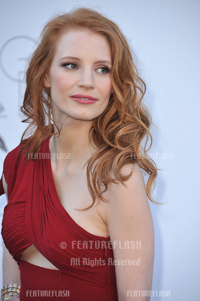 Jessica Chastain at amfAR's 20th Cinema Against AIDS Gala at the Hotel du Cap d'Antibes, France.May 23, 2013  Antibes, France.Picture: Paul Smith / Featureflash