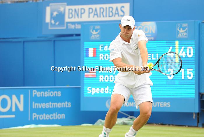 Andy Roddick (USA) Defeated at Aegon