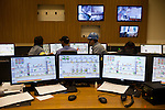 ITUMBIARA, BRAZIL - OCTOBER 16:<br /> The communication center that oversees the facility's operations at one of Cargill's plants near the city of Itumbiara, in Goias state, Brazil, on Wednesday, Oct. 16, 2013. Since the US recently passed a number of regulations and standards for cars and dropped tariffs that were in place for decades against Brazilian sugar, Brazilian ethanol is now flowing to the U.S., and the ethanol industry in the country is consolidating and ramping up for a new era.