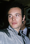 Adam Ant at the Hard Rock Cafe in New York City on 11/1/1985.