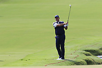 Thomas Bjorn (DEN) chips into the 18th green during Friday's Round 2 of the 2017 PGA Championship held at Quail Hollow Golf Club, Charlotte, North Carolina, USA. 11th August 2017.<br /> Picture: Eoin Clarke | Golffile<br /> <br /> <br /> All photos usage must carry mandatory copyright credit (&copy; Golffile | Eoin Clarke)