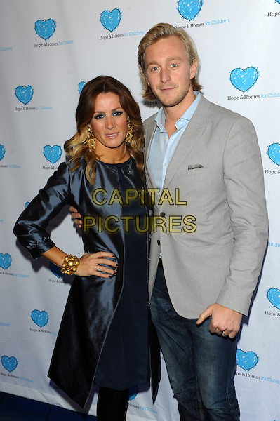 LONDON, UK - MARCH 03 - Natalie Pinkham and Owain Walbyoff attends a screening of 'A Home for Mirela' a documentary about Romanian orphans by Natalie Pinkham at Vue West End on March 3, 2014 in London, England.<br /> CAP/CJ<br /> &copy;Chris Joseph/Capital Pictures