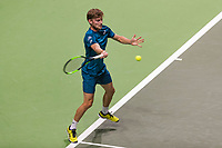 Rotterdam, The Netherlands, 17 Februari, 2018, ABNAMRO World Tennis Tournament, Ahoy, Tennis, David Goffin (BEL)<br /> <br /> Photo: www.tennisimages.com