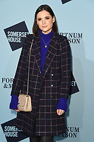 Lilah Parsons at the launch party for Skate at Somerset House, London, UK. <br /> 14 November  2017<br /> Picture: Steve Vas/Featureflash/SilverHub 0208 004 5359 sales@silverhubmedia.com