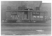 Outfit boxcar #04258 in Alamosa.<br /> D&amp;RGW  Alamosa, CO