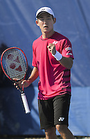 www.acepixs.com<br /> <br /> February 20 2017, Delray Beach<br /> <br /> Yoshihito Nishioka at the 2017 Delray Beach Open an ATP 250 event on February 20 2017 in Delray Beach, Florida.<br /> <br /> By Line: Solar/ACE Pictures<br /> <br /> ACE Pictures Inc<br /> Tel: 6467670430<br /> Email: info@acepixs.com<br /> www.acepixs.com