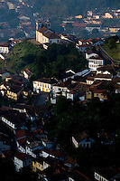 Ouro Preto_MG, Brasil...Vista panoramica de Ouro Preto...The panoramic view of Ouro Preto...Foto: LEO DRUMOND / NITRO.