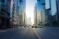 A view of downtown Toronto, Ontario.