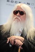 Leon Russell at the 26th annual Rock and Roll Hall of Fame Induction Ceremony at The Waldorf=Astoria  in New York City. March 14, 2011. Credit: Dennis Van Tine/MediaPunch