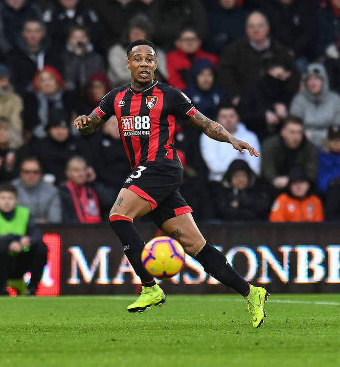 Bournemouth's Callum Wilson <br /> <br /> Photographer David Horton/CameraSport<br /> <br /> The Premier League - Bournemouth v West Ham United - Saturday 19 January 2019 - Vitality Stadium - Bournemouth<br /> <br /> World Copyright © 2019 CameraSport. All rights reserved. 43 Linden Ave. Countesthorpe. Leicester. England. LE8 5PG - Tel: +44 (0) 116 277 4147 - admin@camerasport.com - www.camerasport.com