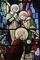 Glasfenster von St.Brelade's Parish Church, Insel Jersey, Kanalinseln