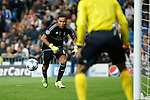 Real Madrid´s Keylor Navas during Champions League soccer match between Real Madrid and Shakhtar Donetsk at Santiago Bernabeu stadium in Madrid, Spain. Spetember 15, 2015. (ALTERPHOTOS/Victor Blanco)