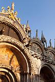 ITALY, Venice. St. Mark's Basilica in St. Mark's Square.