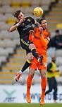 11.05.2018 Livingston v Dundee Utd:  Lee Miller elbows Bilel Mohsni