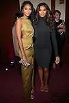 Victoria Secret Model, SI Swimsuit Model and Actress Chanel Iman and IMG Models' Heidy De la Rosa Attend 2015 Sports Illustrated Sportsperson of the Year Awards Celebration Held at Pier Sixty at Chelsea Piers