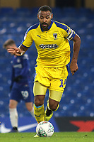Liam Trotter of AFC Wimbledon in action during Chelsea Under-21 vs AFC Wimbledon, Checkatrade Trophy Football at Stamford Bridge on 4th December 2018