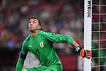 Fernando Muslera of Uruguay watches an incoming ball during an international friendly game against the USA on September 10, 2019 at Busch Stadium in St. Louis, Missouri USA<br /> AFP Photo by Tim VIZER